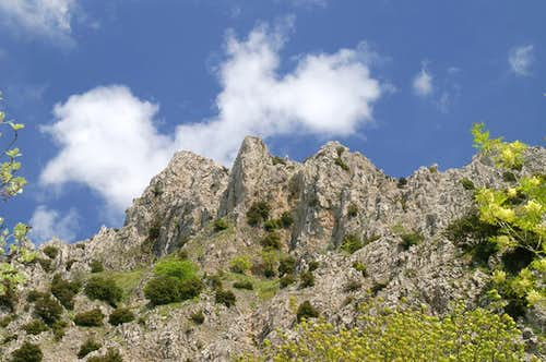 Monte Zuacalla West Face
