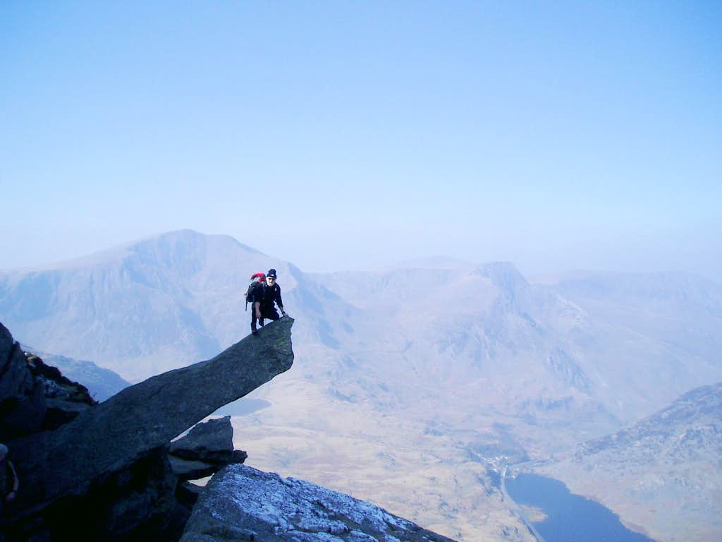 The cannon - Tryfan