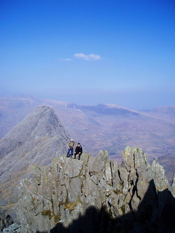 Welsh pinnacles