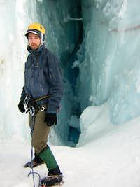 Rainier - inside a crevasse