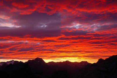 Deepest Red Sunrise