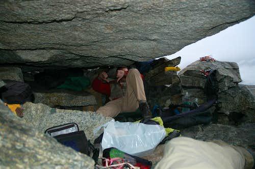 Under a rock
