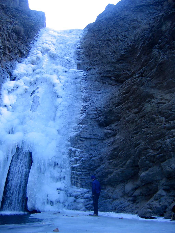 Jump Creek waterfall