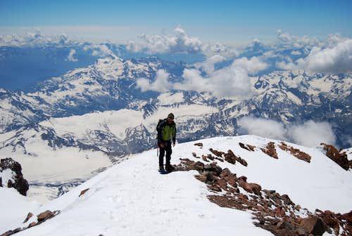 Summit Ridge of Elbrus