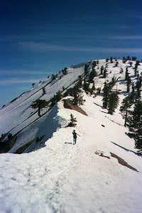 Baden-Powell summit ridge,...