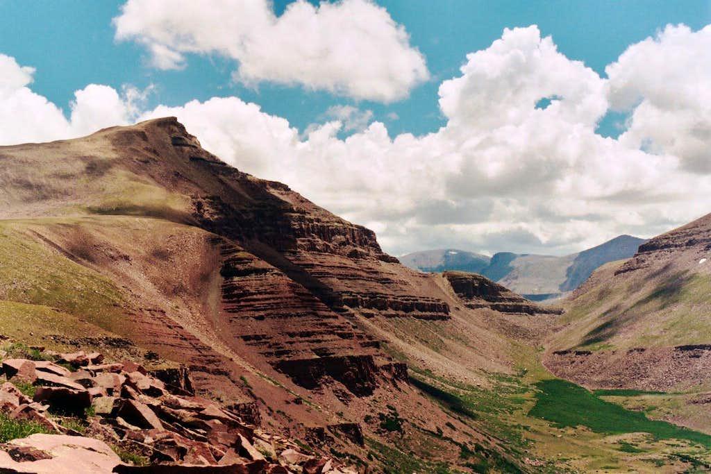 Gunsight Peak from Pt. 12,089