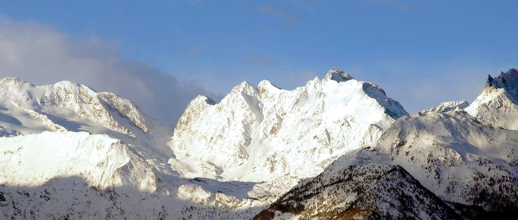 Il monte Paramont ...