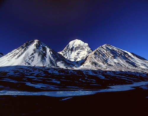 The Norh Face of Mt.Kailash...