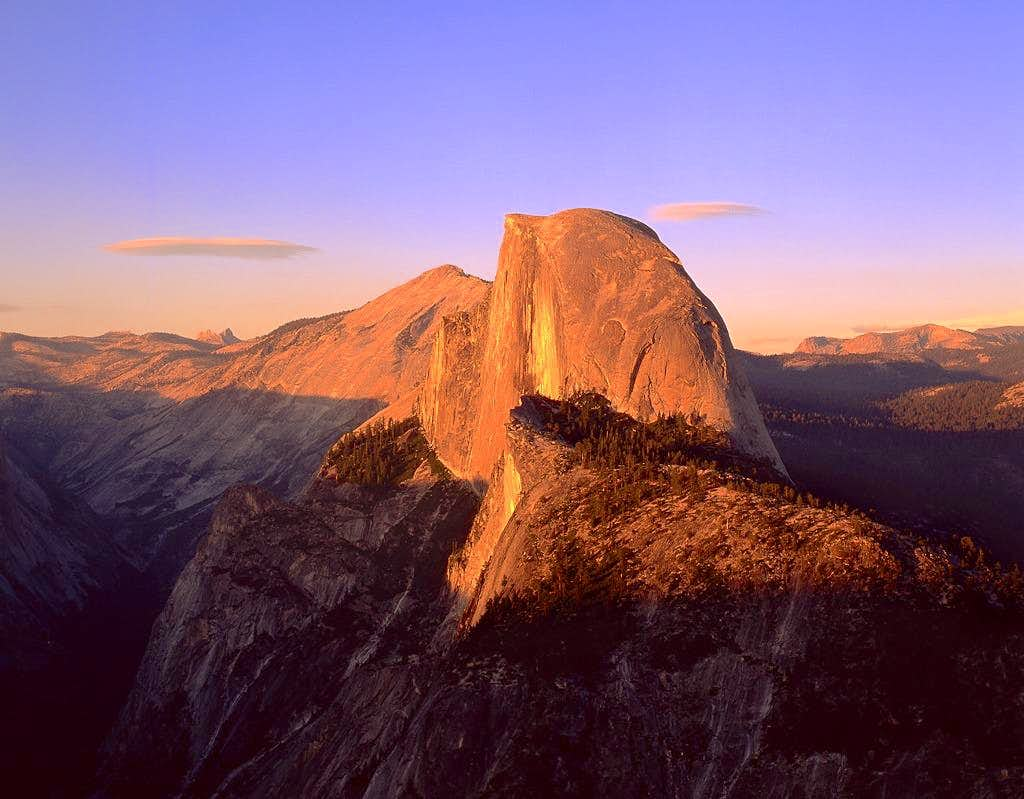 Half Dome from Glacier Point,...