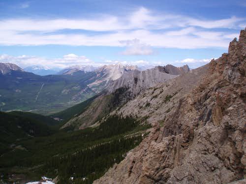 Looking NW From Summit Ridge