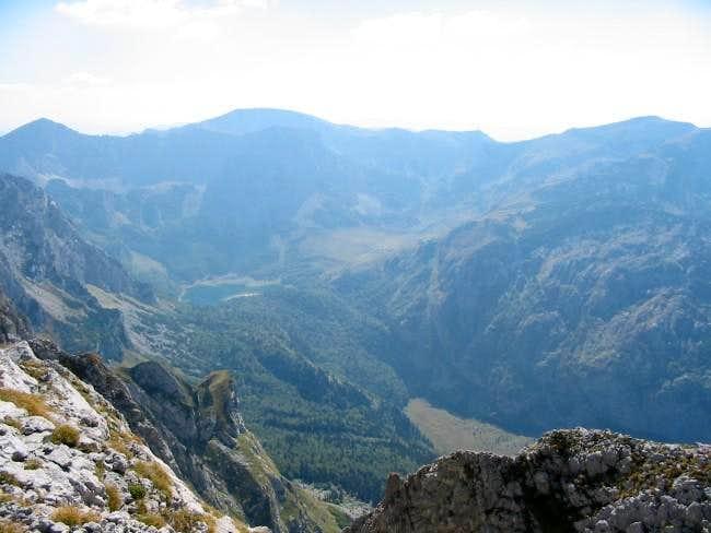 Trnovacko lake - view from...
