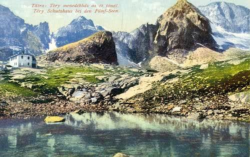 Vintage High Tatra postcards