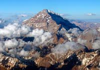 The West face of Aconcagua,...