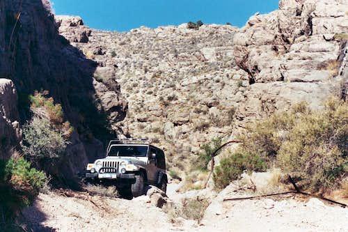 Virgin Peak Trailhead