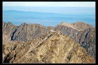 Rysy seen from Vysoka Peak