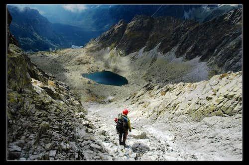 Descending Vysoka