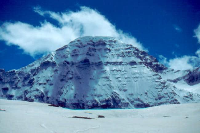 North Face of Taillon in winter