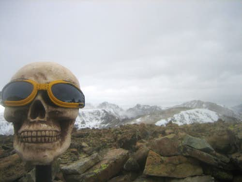 Me atop Sawtooth Mountain