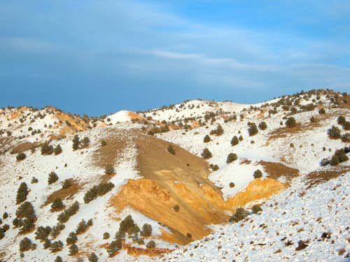View of the Colored Hills