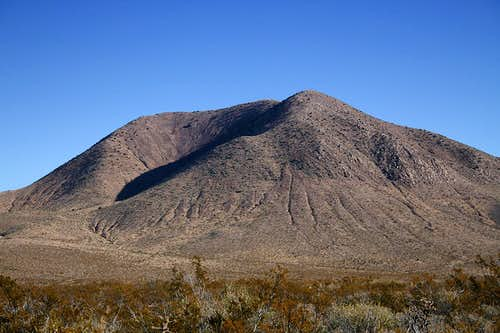 Cox Peak from County Road A-005