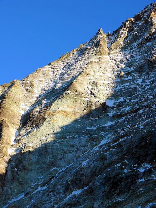 Mont Gelè North face