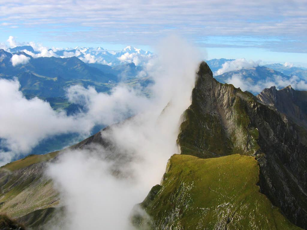 Pointe de Paray (Swiss Prealps)