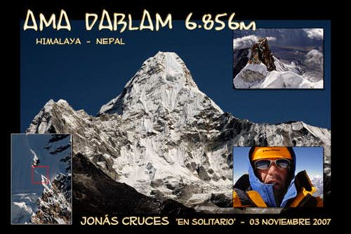 SOLO Ama Dablam Expedition 2007