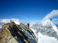 A  small ridge but Nice climbing 3+