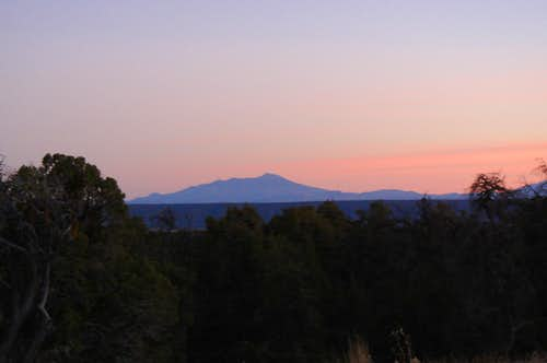 Humphreys Peak from a distance