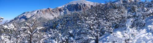 North Ridge of Sandias