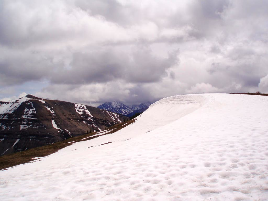 Snow Capped Summit