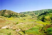 Foothills of the Simien Mountains