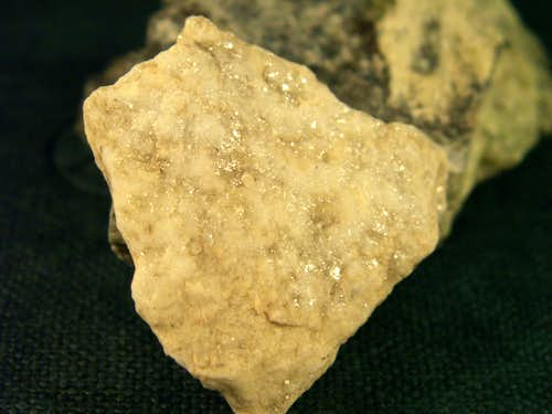 A greisen rock...