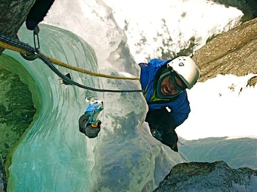 Ice Climbing in Italy