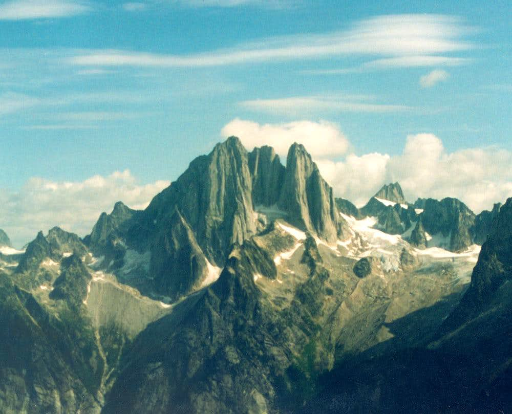 Howser Towers - Bugaboos