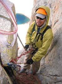Belaying on pitch 5?