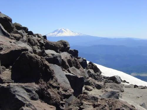 Mt. Adams from Mt. St. Helens...