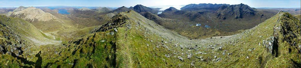 Marsco - summit 360 deg panorama