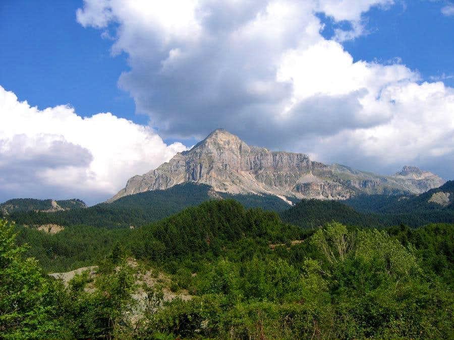 Peaks from Kipseli