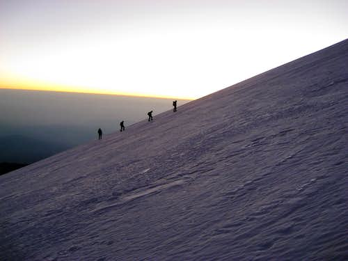 k2_team heading to Orizaba Summit