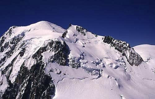 Mont Blanc and Mont Maudit...