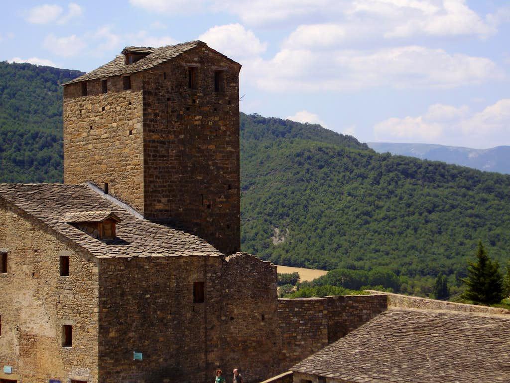 Ainsa castillo