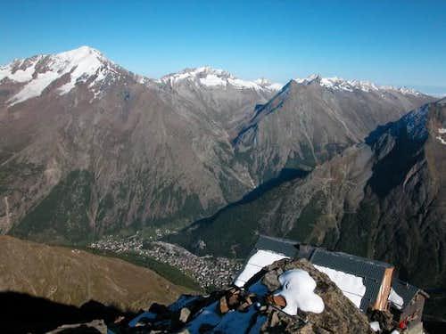 Mischabel Hütte 14/09/2002