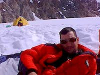 Me resting; I don't do altitude well