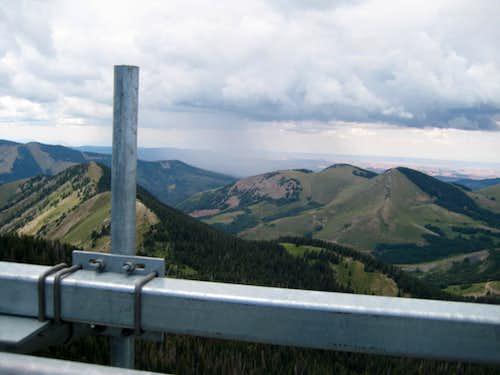 11510 ft up on Abajo Peak