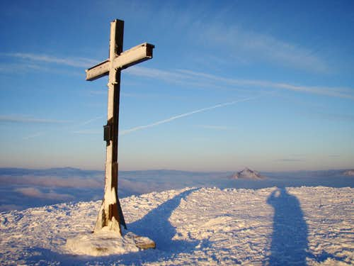 Rangiswangerhorn summit cross