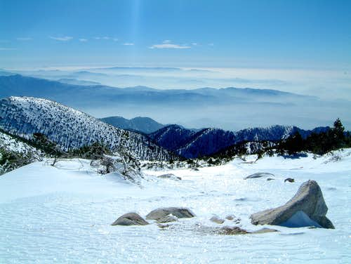 Ice Capades on San Gorgonio