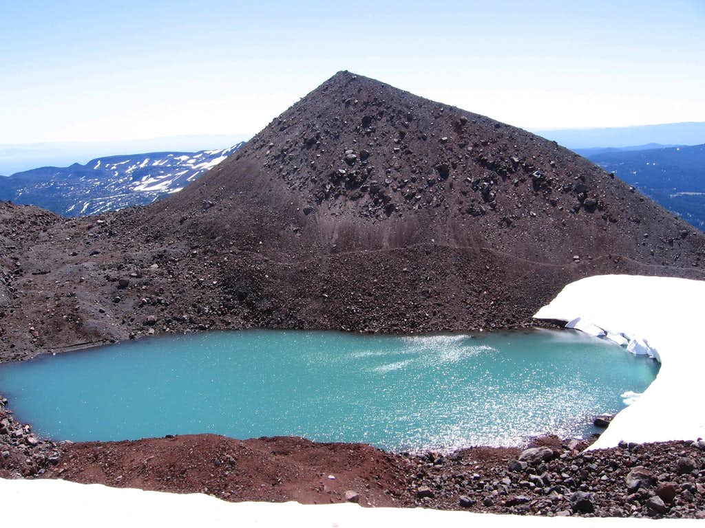 Glacial Lake on S. Sister