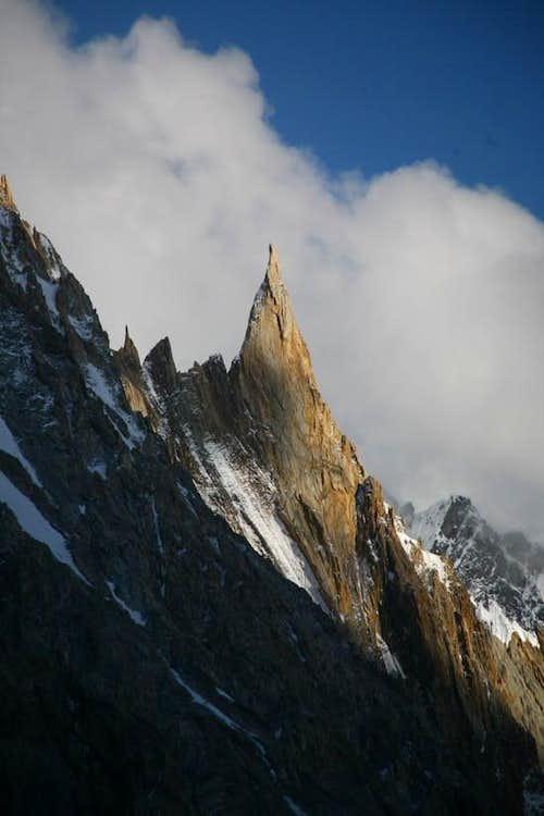 Un-named Sharp Peaks, Near Concordia, Baltoro Glacier, Karakoram, Pakistan