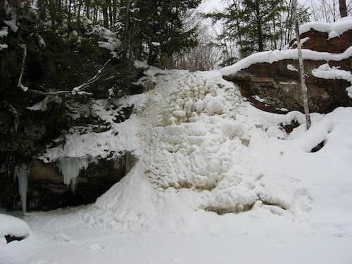 Frozen Hungarian Falls